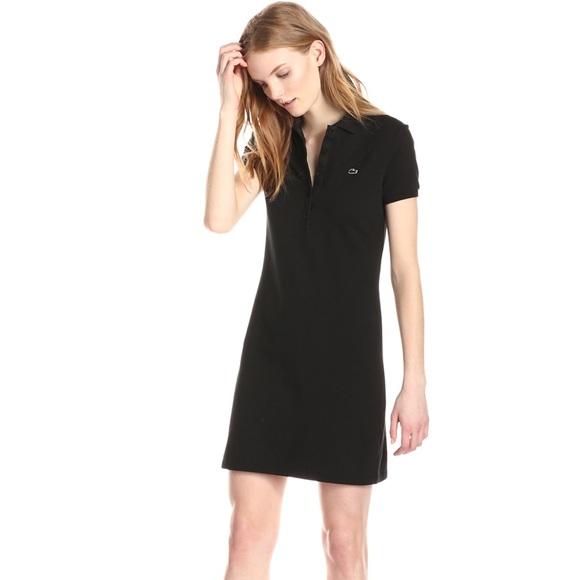 125a6b20c Lacoste Dresses   Skirts - Lacoste Women s Stretch Cotton Mini Polo Dress